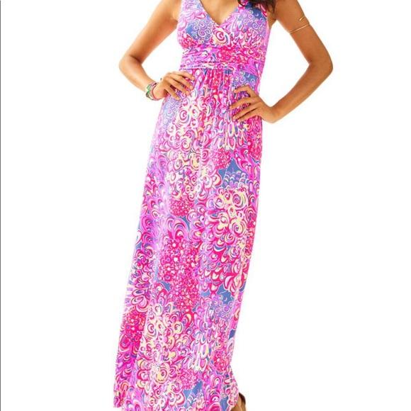 Lilly Pulitzer Dresses Nwt Sloane Maxi Dress Poshmark